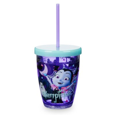 Vampirina Glow-in-the-Dark Straw Tumbler