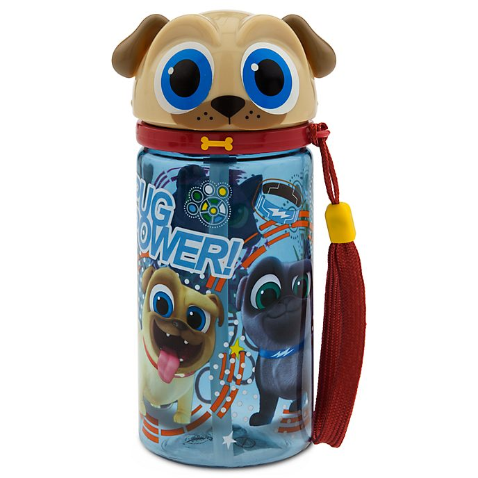 Rolly Water Bottle, Puppy Dog Pals