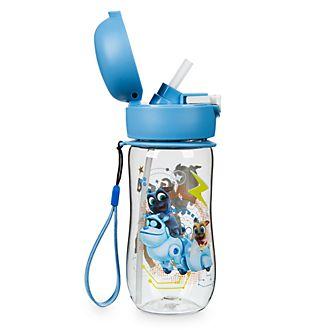 Disney Store Bottiglia per l'acqua con coperchio ribaltabile Puppy Dog Pals