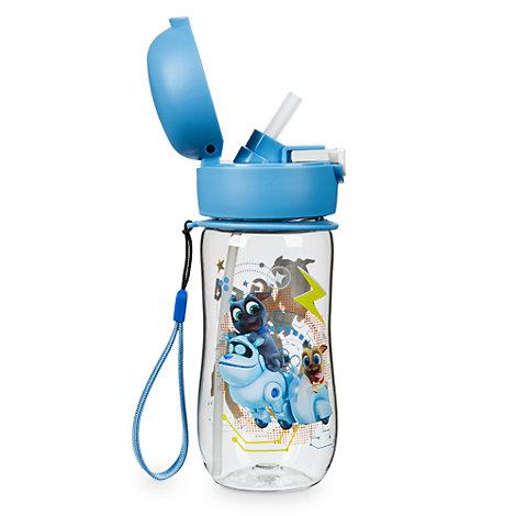 Welpenfreunde - Wasserflasche mit Klappkappe