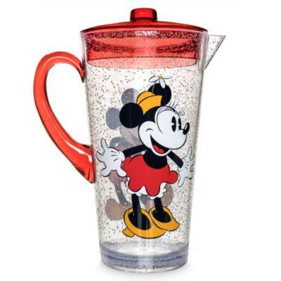 Juego de jarra y vasos Mickey y Minnie Mouse