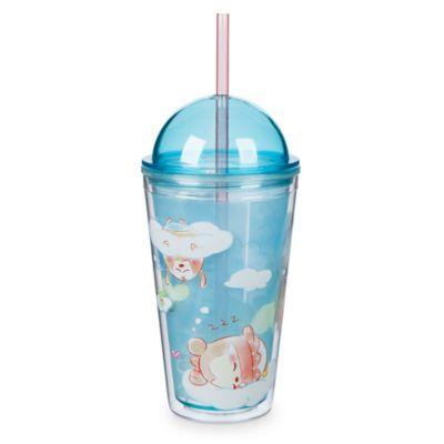 Bicchiere con cannuccia Ufufy Topolino e i suoi amici