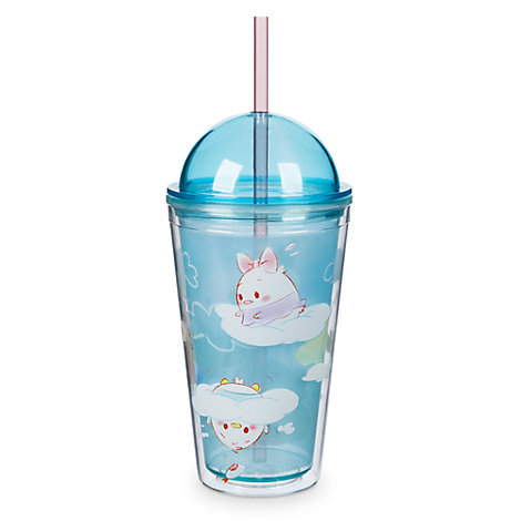 Mickey and Friends Ufufy Tumbler with Straw