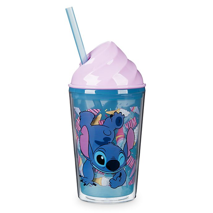 Disney Store Stitch Ice Cream Cup with Straw
