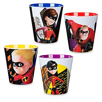 Incredibles 2 Cups, Set of 4