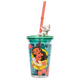 Bicchiere con cannuccia Vaiana Disney Store