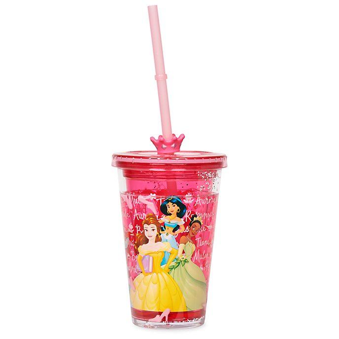 Disney Store - Disney Prinzessin - Strohhalm-Becher