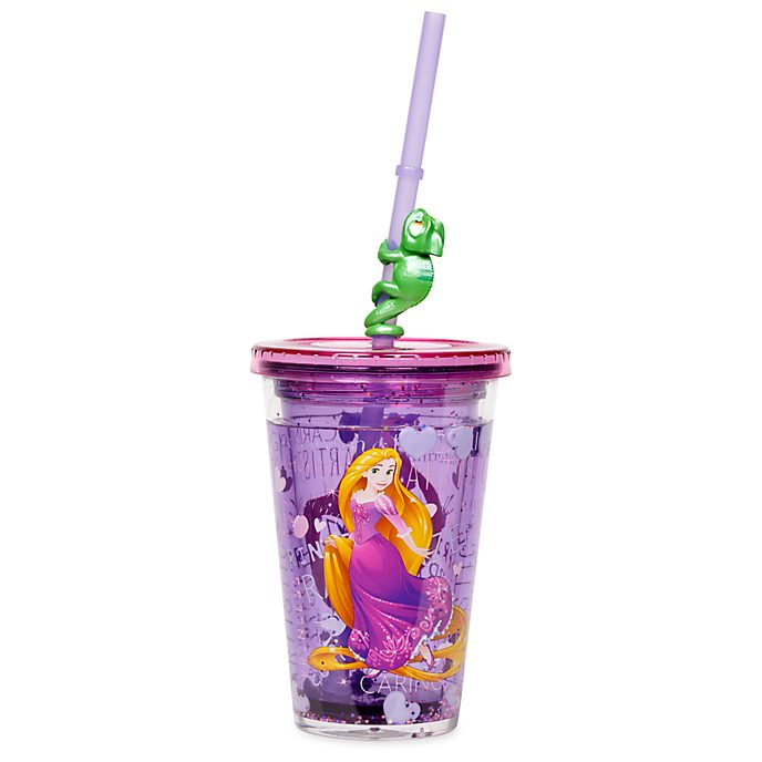 Disney Store Rapunzel Straw Tumbler
