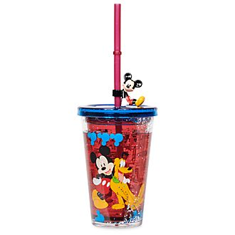 Disney Store Mickey and Friends Straw Tumbler