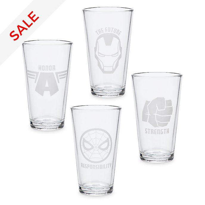 The Avengers - Gläser - 4-teiliges Set