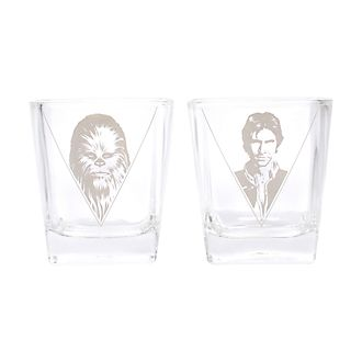 Star Wars - Han Solo und Chewbacca - Glasbecher, 2er-Set