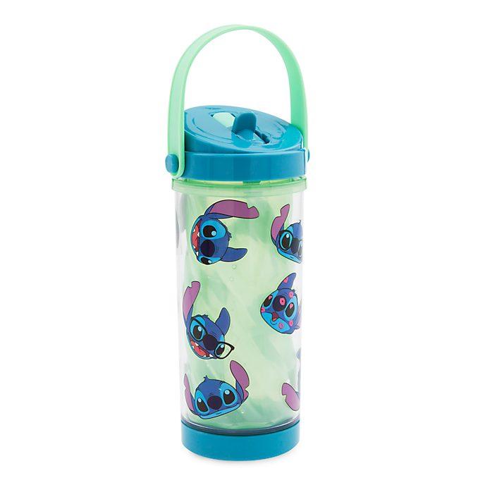Botella agua que cambia color Stitch, Disney Store
