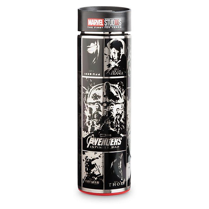 Disney Store Marvel 10th Anniversary Water Bottle