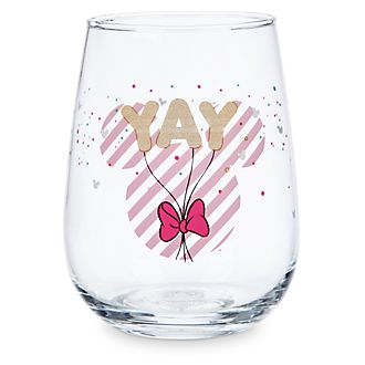 Disney Store Minnie Mouse Stemless Glass