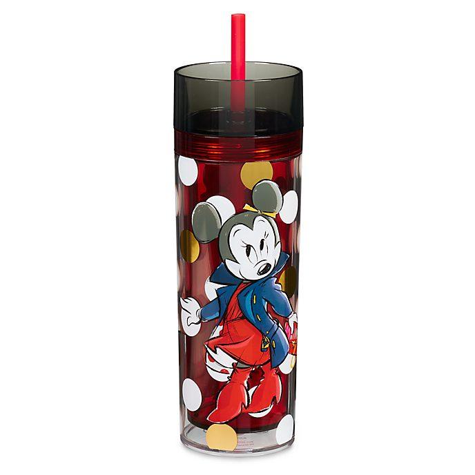 Disney Store Gobelet avec paille Minnie Rocks the Dots