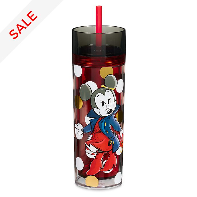 Disney Store Minnie Rocks the Dots Straw Tumbler