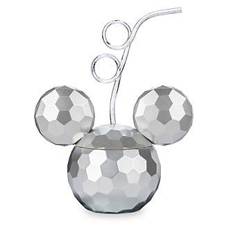 Disney Store - Mickey Mouse - Diskokugelbecher mit Strohhalm