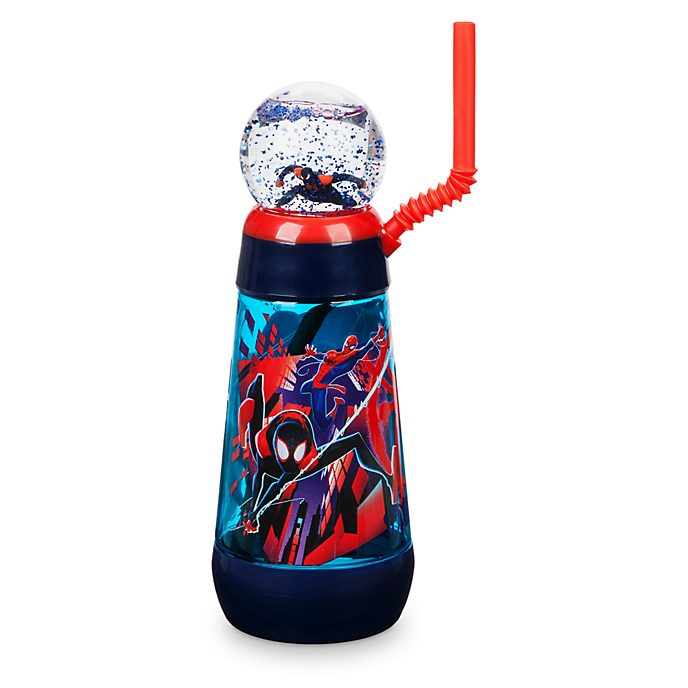 Disney Store Spider-Man: Into the Spider-Verse Spinning Globe Tumbler