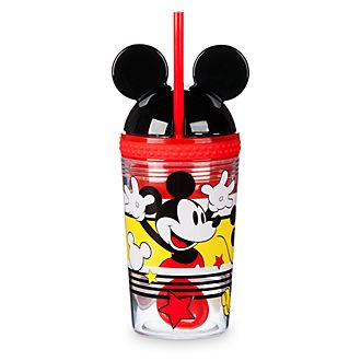 Disney Store Mickey Mouse Disney Eats Snack Pot and Tumbler