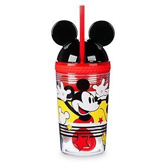 Fiambrera y vaso con pajita Mickey Mouse, Disney Eats, Disney Store