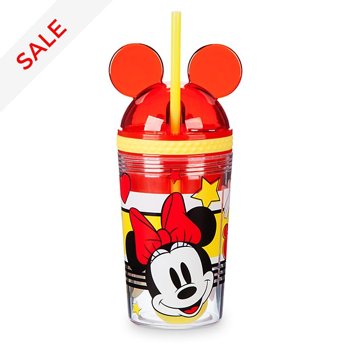Disney Store Minnie Mouse Disney Eats Snack Pot and Tumbler