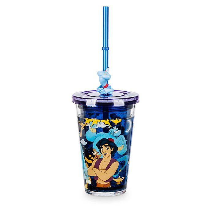 Disney Store Gobelet avec paille Aladdin