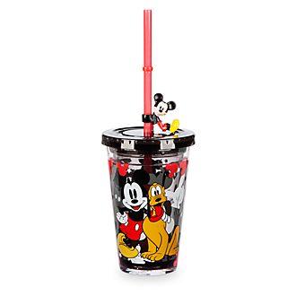 Disney Store Gobelet avec paille Mickey Mouse