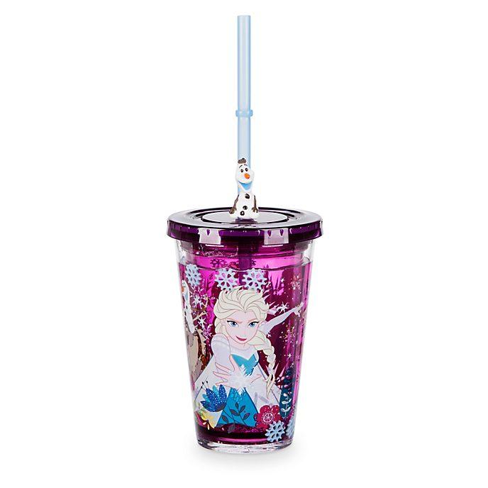 Vaso con pajita Frozen: El Reino de Hielo, Disney Store