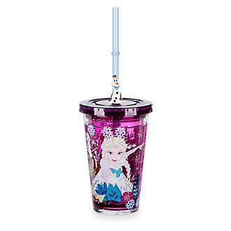 Disney Store Gobelet avec paille La Reine des Neiges