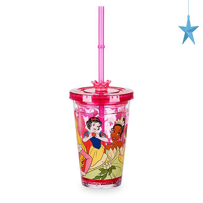 Vaso con pajita princesa Disney, Disney Store
