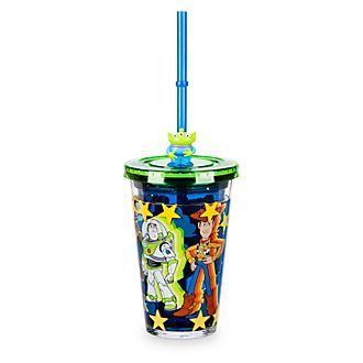 Bicchiere con cannuccia Toy Story Disney Store