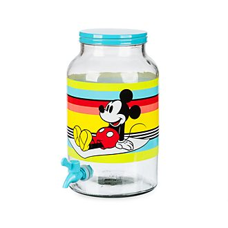 Dispensador bebidas cristal Mickey Mouse, Disney Store