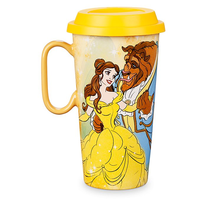 Tazza da viaggio Belle Disney Store