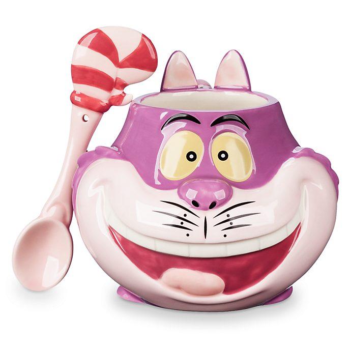 Disney Store Cheshire Cat Mug and Spoon