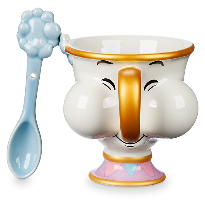Disney Store Chip Mug and Spoon