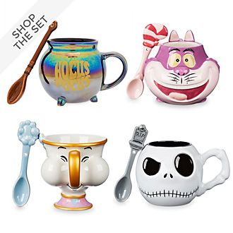 Disney Store Mug and Spoon Collection
