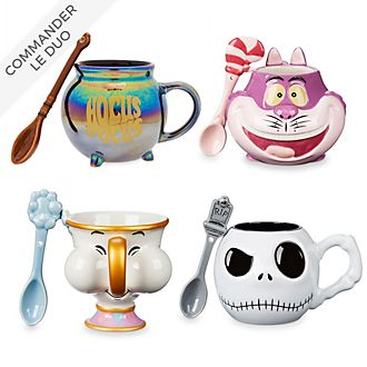 Disney Store Collection de mugs avec cuiller