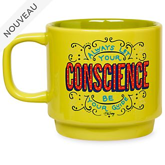 Disney Store Mug Pinocchio empilable avec citation, collection Disney Wisdom, 7 sur 12