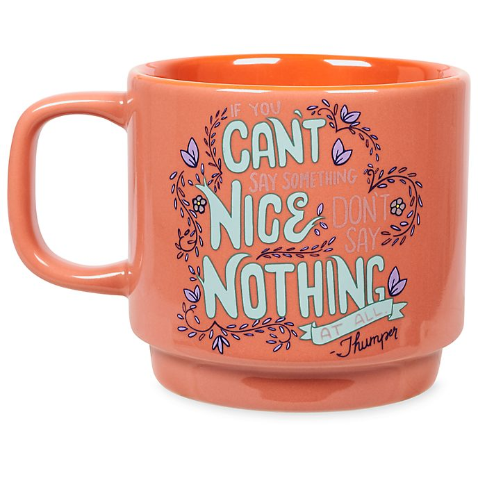 Disney Store Mug empilable Bambi Disney Wisdom, 8sur12