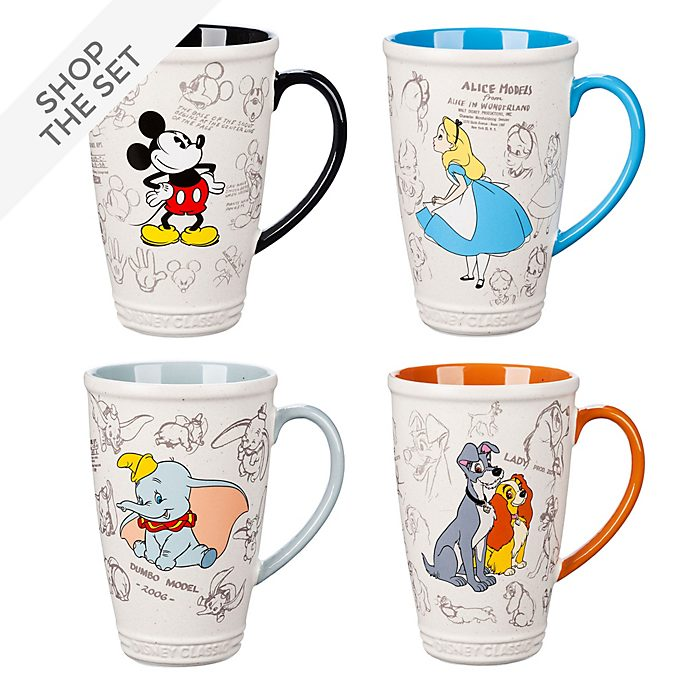 Disney Store Animated Mug Collection