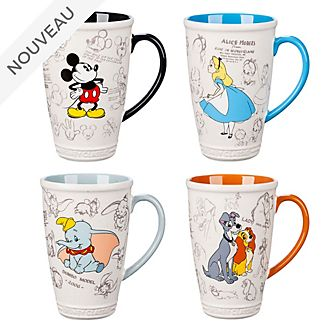 Disney Store Collection de mugs Animated