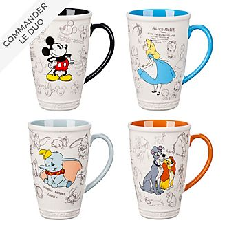 Disney Store Collection de mugs Animated