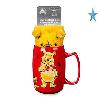Set taza y calcetines Winnie the Pooh, Disney Store