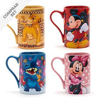 Colección de tazas clásicas, Disney Store