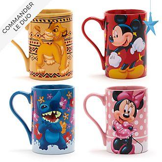 Disney Store Collection de mugs classiques