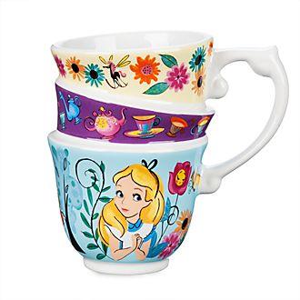 Tazza sovrapposta Alice nel Paese delle Meraviglie Disney Store