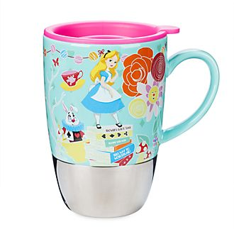 Disney Store Alice in Wonderland Travel Mug