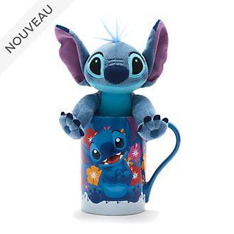 Disney Store Lot mug et peluche miniature Stitch