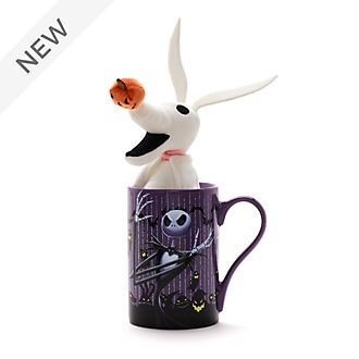 Disney Store The Nightmare Before Christmas Mug and Mini Bean Bag Bundle