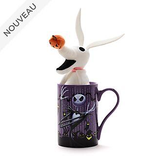 Disney Store Lot mug et peluche miniature L'Étrange Noël de Monsieur Jack